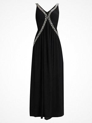 TFNC EMERALA MAXI Festklänning black/silver