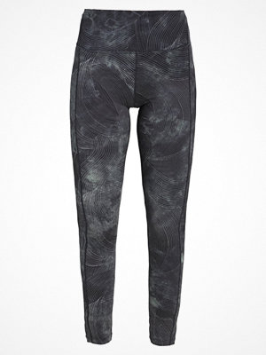 Free People REFLECTIVE GLOW FOR IT Tights blue combo