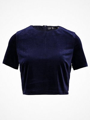 Missguided Tall Tshirt med tryck royal blue