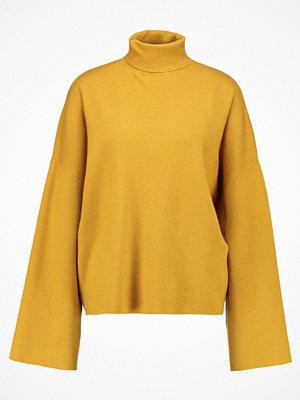 Noisy May Tall Stickad tröja nugget gold