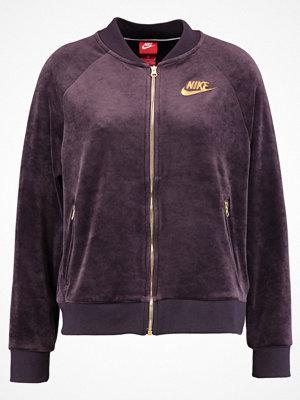 Nike Sportswear Bomberjacka port wine/metallic gold