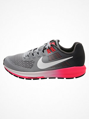 Sport & träningsskor - Nike Performance AIR ZOOM STRUCTURE 21 Löparskor stabilitet dark grey/white/wolf grey/hot punch/pure platinum/black
