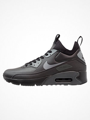 Sneakers & streetskor - Nike Sportswear AIR MAX 90 ULTRA MID WINTER Höga sneakers black/cool grey/anthracite