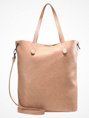 Even&Odd beige shopper Shoppingväska rose