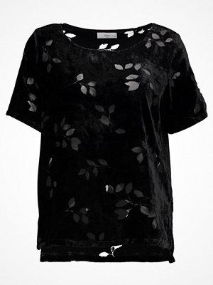 Minimum JUTA Tshirt med tryck black