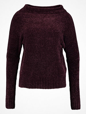 Anna Field Stickad tröja bordeaux