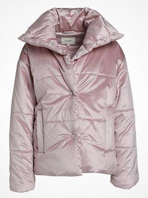 NANUSHKA HIDE Vinterjacka pearl pink