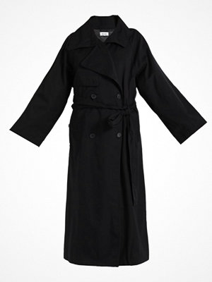 Trenchcoats - Weekday DISTRICT TRENCH LIMITED EDITION Trenchcoat black