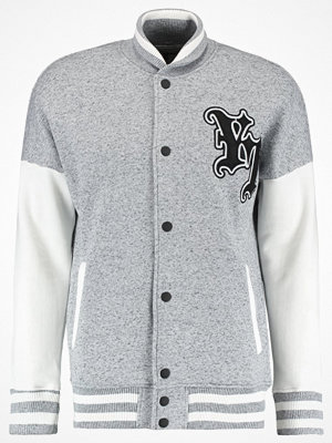 YourTurn Sweatshirt mottled grey/white