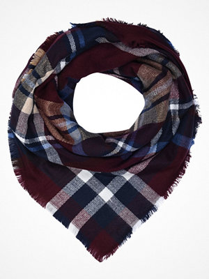 Only ONLPINAR CHECK SCARF  Scarf port royale/blue and sand tones