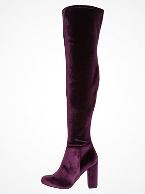 Steve Madden OWNEEX Klassiska stövlar burgundy velvet