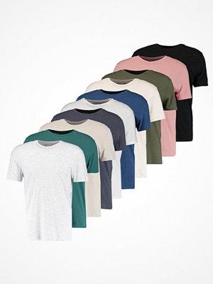 Topman MULTI 10 PACK Tshirt bas multi bright