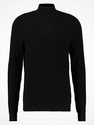 Calvin Klein SAYMASO STRUCTURED Stickad tröja perfect black