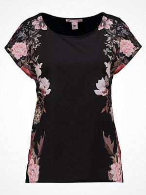 Anna Field Tshirt med tryck black/ rose