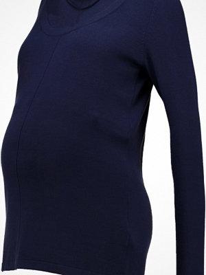 Mamalicious MLMYNA NELL  Stickad tröja medieval blue