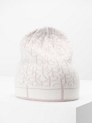 Mössor - Calvin Klein MIX BEANIE Mössa mushroom/dust