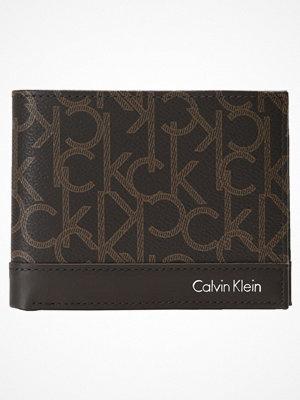Plånböcker - Calvin Klein GREG MONO  Plånbok brown monogra