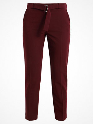 Dorothy Perkins SMART  Tygbyxor port vinröda
