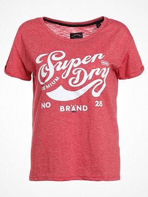 Superdry BRAND SLIM FIT Tshirt med tryck rebel red
