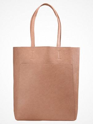 Even&Odd beige shopper Shoppingväska winter rose