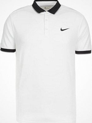 Pikétröjor - Nike Performance COURT DRY Funktionströja white/black/cool grey