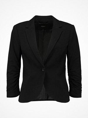 Only ONLCLAUDIA CRINKLE 3/4 BLAZER WVN Blazer black