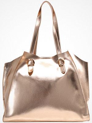 Even&Odd beige shopper Shoppingväska rose gold