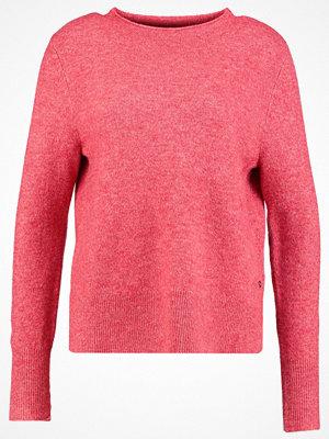 Tom Tailor Denim BASIC MOCK NECK Stickad tröja smoky rose melange