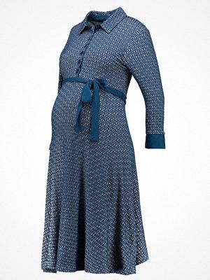 Anna Field MAMA Skjortklänning petrol