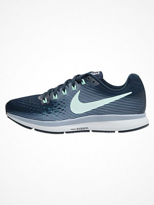 Sport & träningsskor - Nike Performance AIR ZOOM PEGASUS 34 Löparskor stabilitet armory navy/mint foam/glacier grey/black/mint foam/pure pla