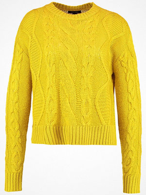 New Look FASHION LEAD IN Stickad tröja yellow
