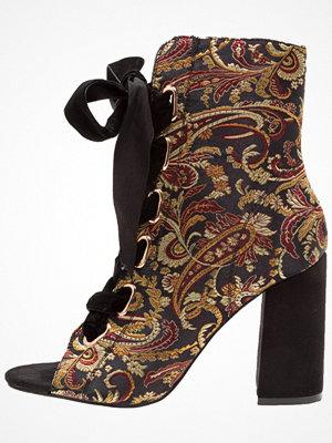 Glamorous Klassiska stövletter black/multicolor