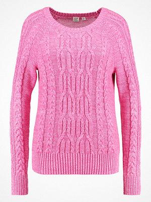 GAP CABLE Stickad tröja pink