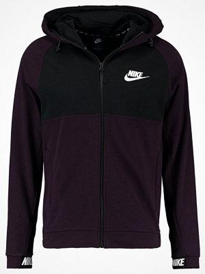 Nike Sportswear HOODIE  Sweatshirt port wine/black/white