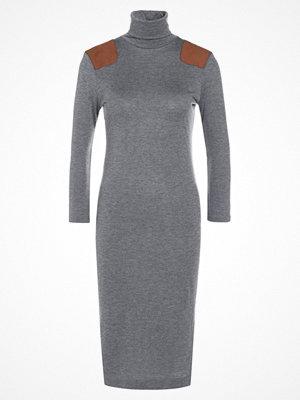 Polo Ralph Lauren Stickad klänning antique heather