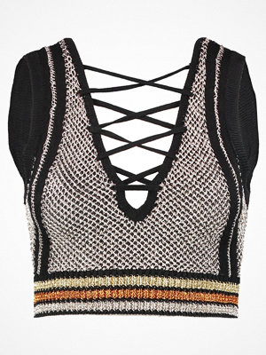 Missguided LACE UP FRONT  Linne multi