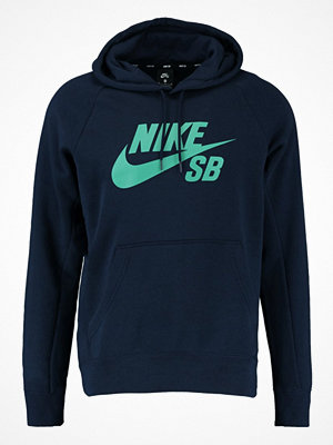 Nike Sb ICON Luvtröja obsidian/neptune green