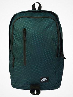 Nike Sportswear ALL ACCESS SOLEDAY  Ryggsäck outdoor green/black/white mönstrad
