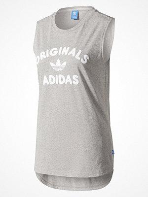 T-shirts - Adidas Originals Tshirt med tryck mgreyh