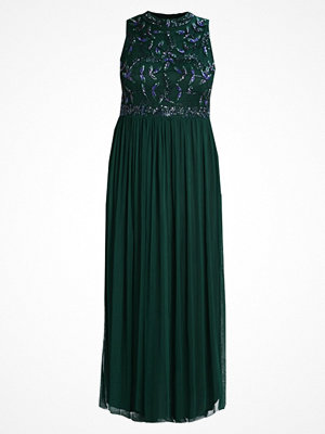 Lace & Beads Curvy KAARA MAXI Maxiklänning bottle green