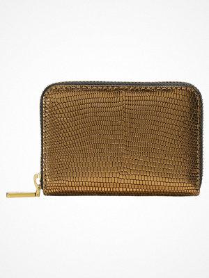 Plånböcker - Polo Ralph Lauren EMBOSSED ZIP  Plånbok gold