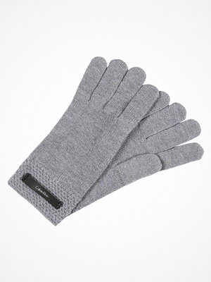 Handskar & vantar - Calvin Klein EMMA GLOVES Fingervantar steel grey