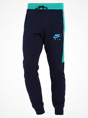 Nike Sportswear AIR Träningsbyxor obsidian/neptune green/photo blue
