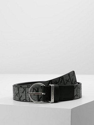 Calvin Klein MARISSA MONOGRAM BELT Skärp granite monog