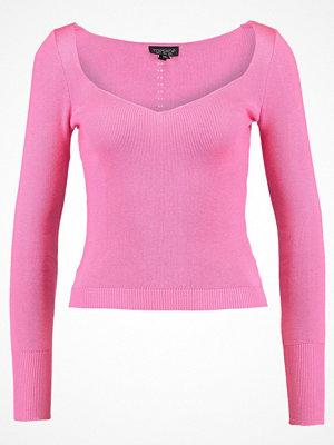 Topshop SWEETHEART Stickad tröja pink