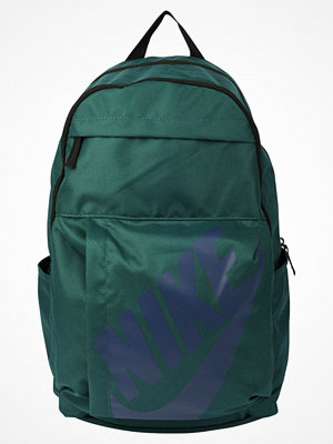 Nike Sportswear ELEMENTAL BACKPACK Ryggsäck atomic teal/black/binary blue mörkgrön med tryck