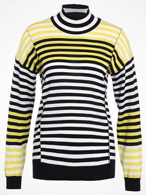 Mads Nørgaard KARILLA MIX Stickad tröja navy white yellow