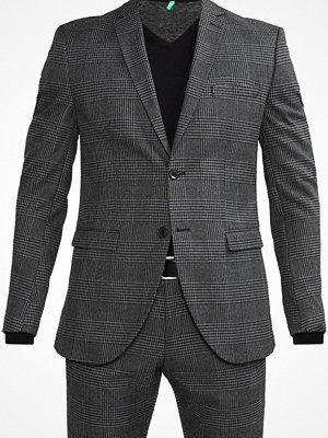Kavajer & kostymer - Selected Homme SHDONEMYLO PRINCE CHECK Kostym medium grey melange