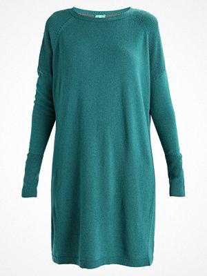 Benetton Stickad klänning green