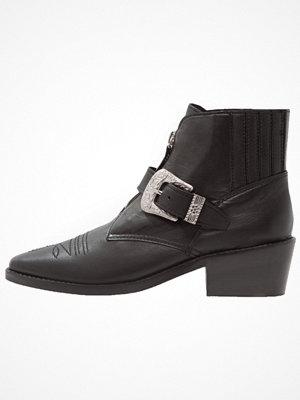Boots & kängor - Topshop AMAZING WESTERN Ankelboots black